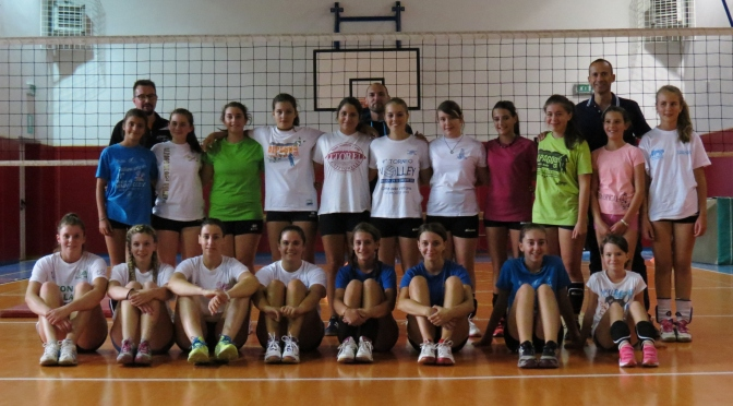 Preparazione 2015 Alpago Volley Team