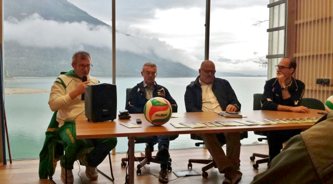 PRESENTAZIONE SOCIETA' ALPAGO VOLLEY TEAM 1979