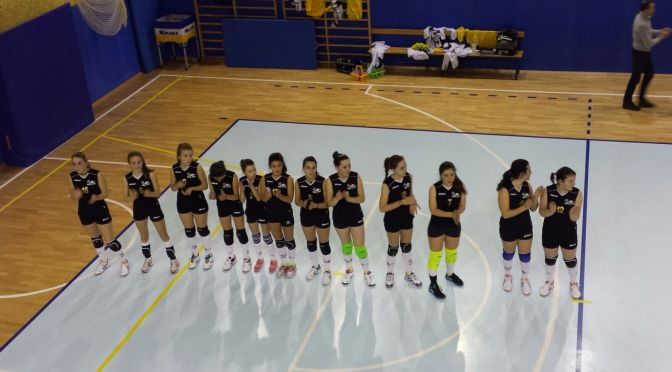 Under 14. 3-0 contro il New Comelico Volley