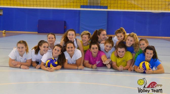 Comincia sabato  04 Novembre l'avventura delle giovani ragazze dell' Alpago Volley
