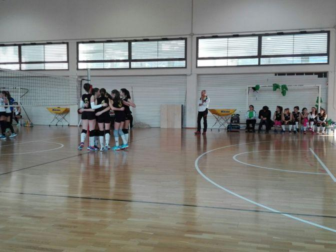 Domenica 28 gennaio Le Pantere U14 contro Upd Costa a Vittorio Veneto