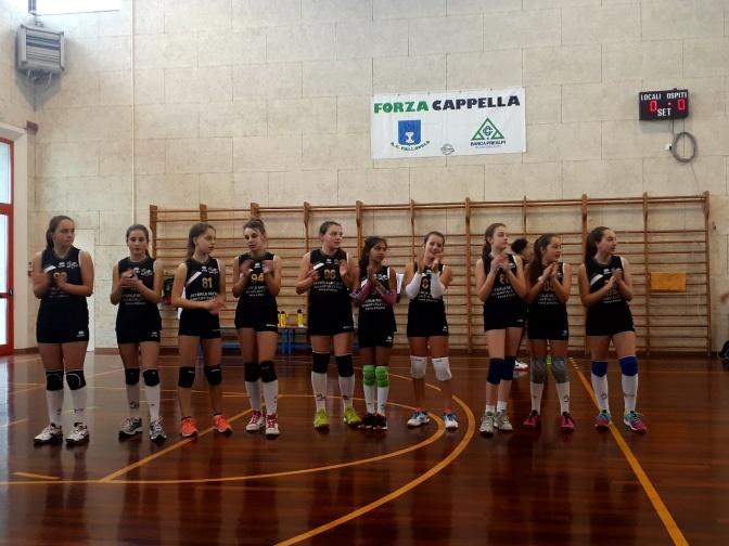 Cappella Volley vs Alpago Volley U12 – 2 -1