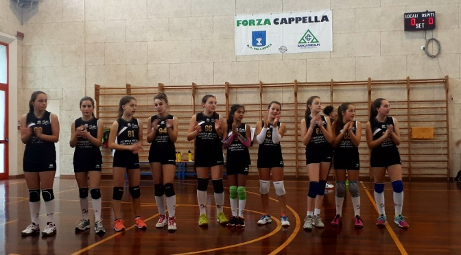 Cappella Volley vs Alpago Volley U12 – 2 -1