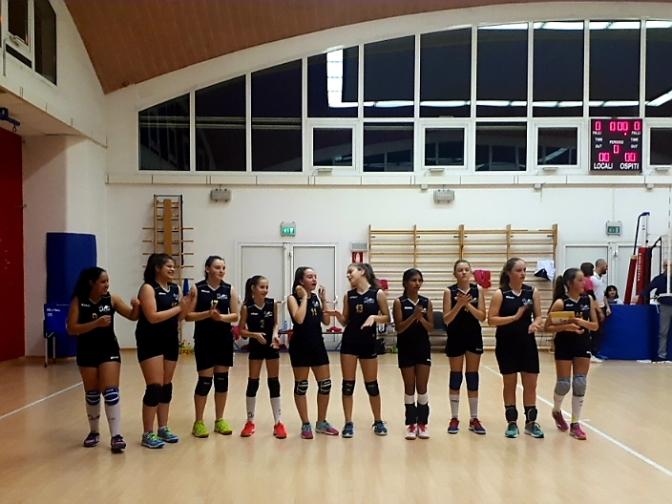 APLAGO VOLLEY U13/SMILE VOLLEY PIAVE 1-3