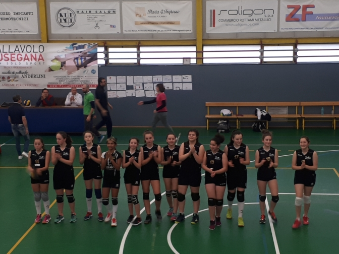 PALLAVOLO SUSEGANA/ PANTERE U13 4-0