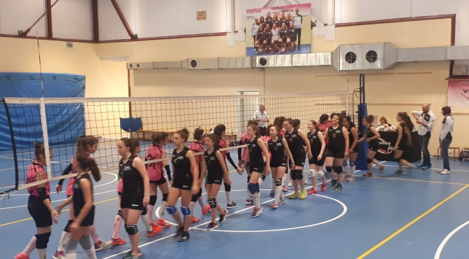 SMILE VOLLEY PIAVE/ALPAGO VOLLEY 4-0 – ORA LE PANTERE U13 SONO NERE