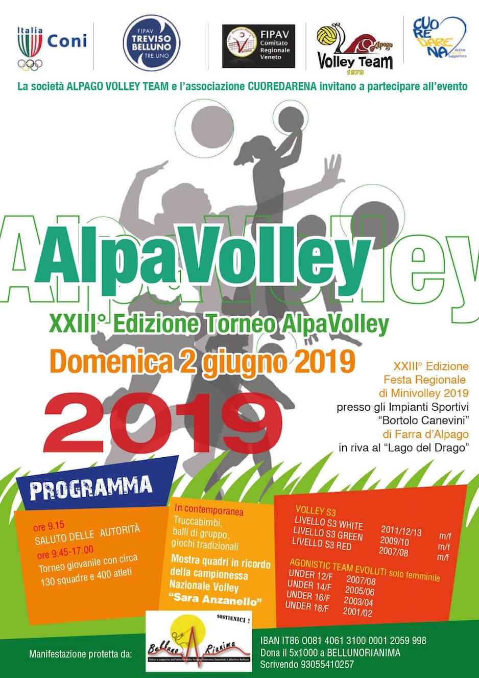 Fipav Veneto Calendario.Alpavolley 2019 Associazione Sportiva Dilettantistica