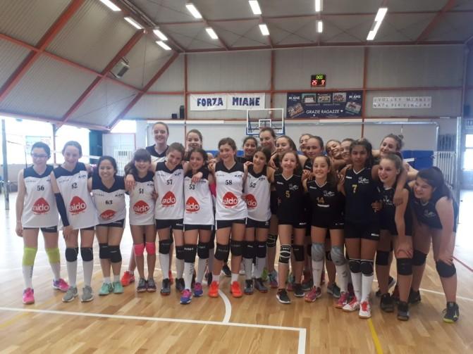 MIANE VOLLEY/ALPAGO U13 2-2