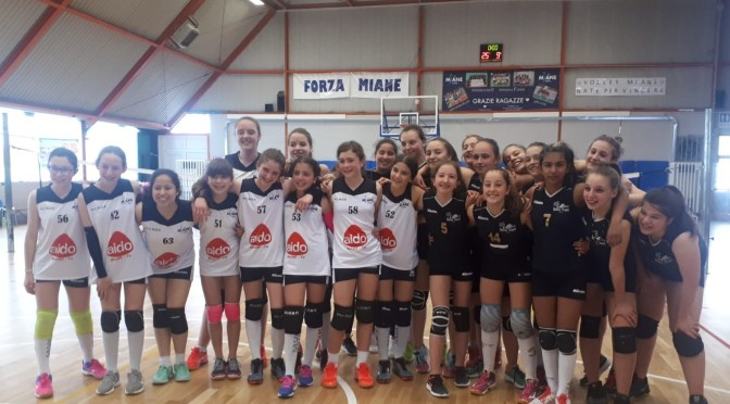 MIANE VOLLEY/ALPAGO U13 2-2