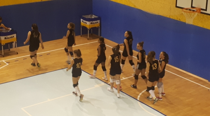 ALPAGO VOLLEY U14 / ALPIROD PONTE 1-3